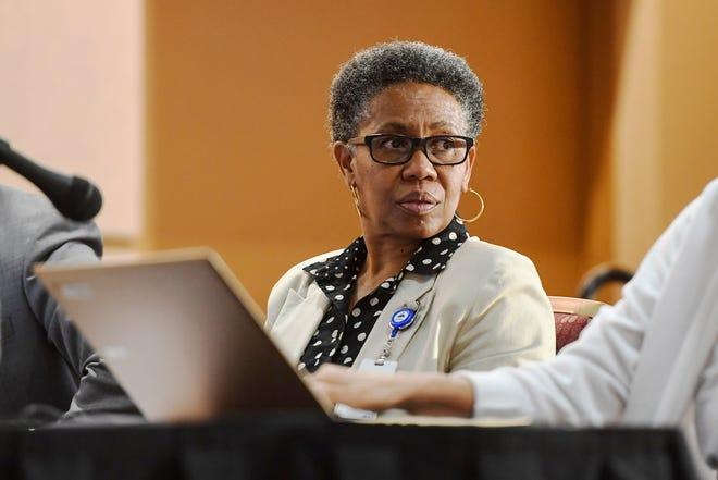 City Administrator Debra Campbell.