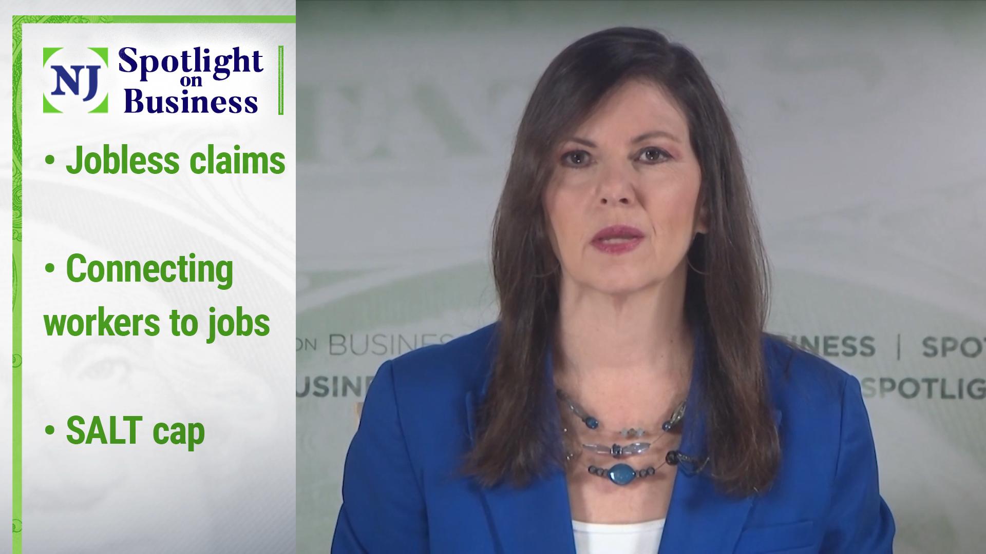 Annual Report: Unemployment Claims, Worker-to-Job Connection, SALT Upper Limit, Merck Process    Video
