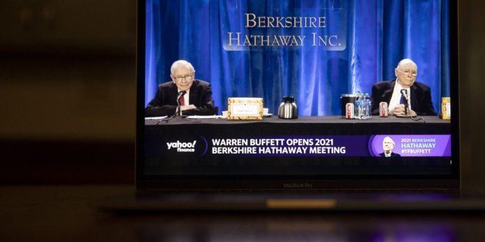 Warren Buffett defends Berkshire's moves in pandemic year