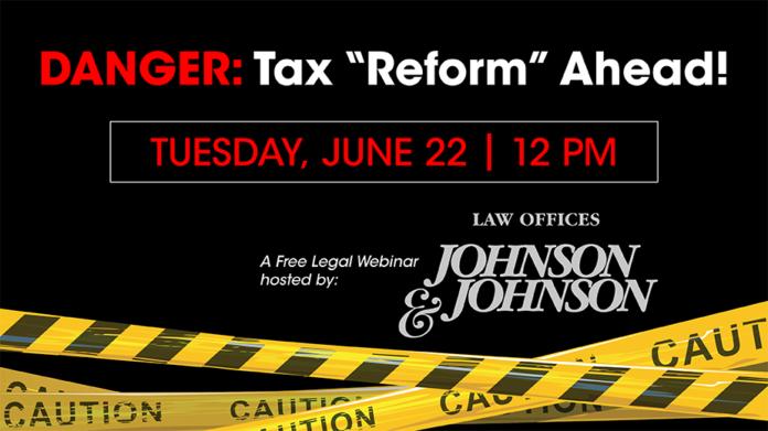 Webinar |  Tax reform ahead!  Pre-Enactment Steps - Business Journal Daily